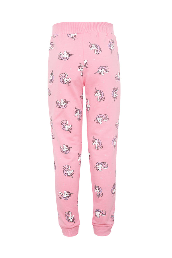 Regular Fit Knitted Trousers - Pink