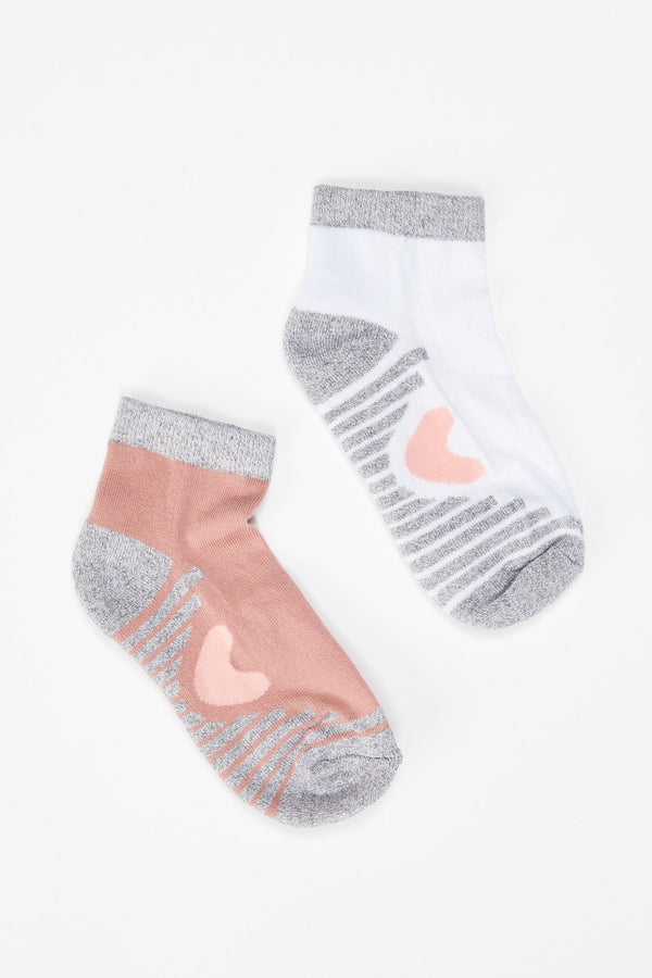 Mesh Socks 2 Pack - Mixed Color