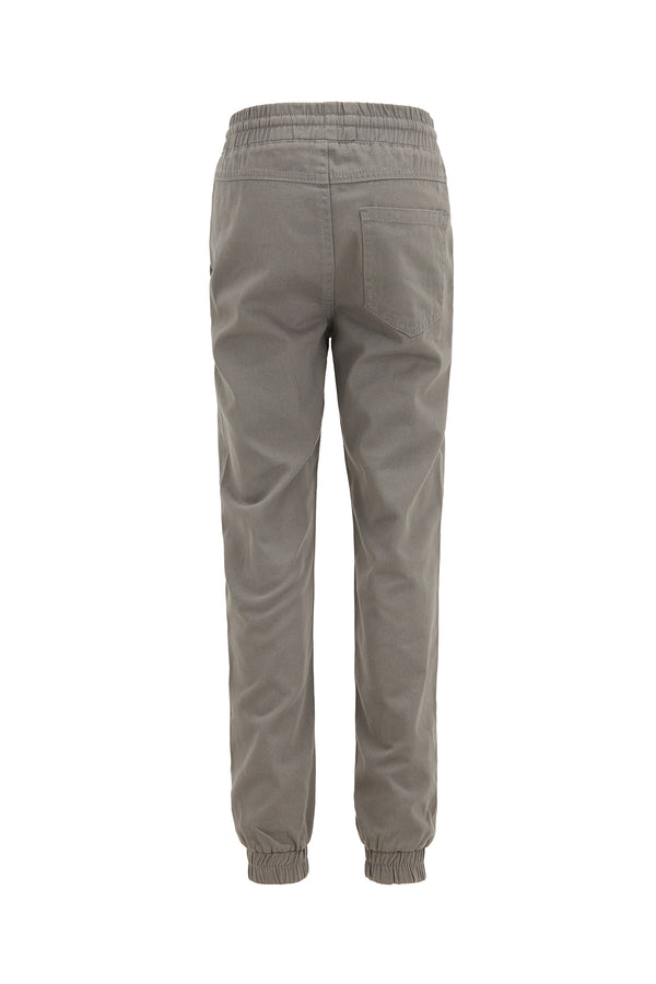 Relax Fit Woven Trousers - Anthracite