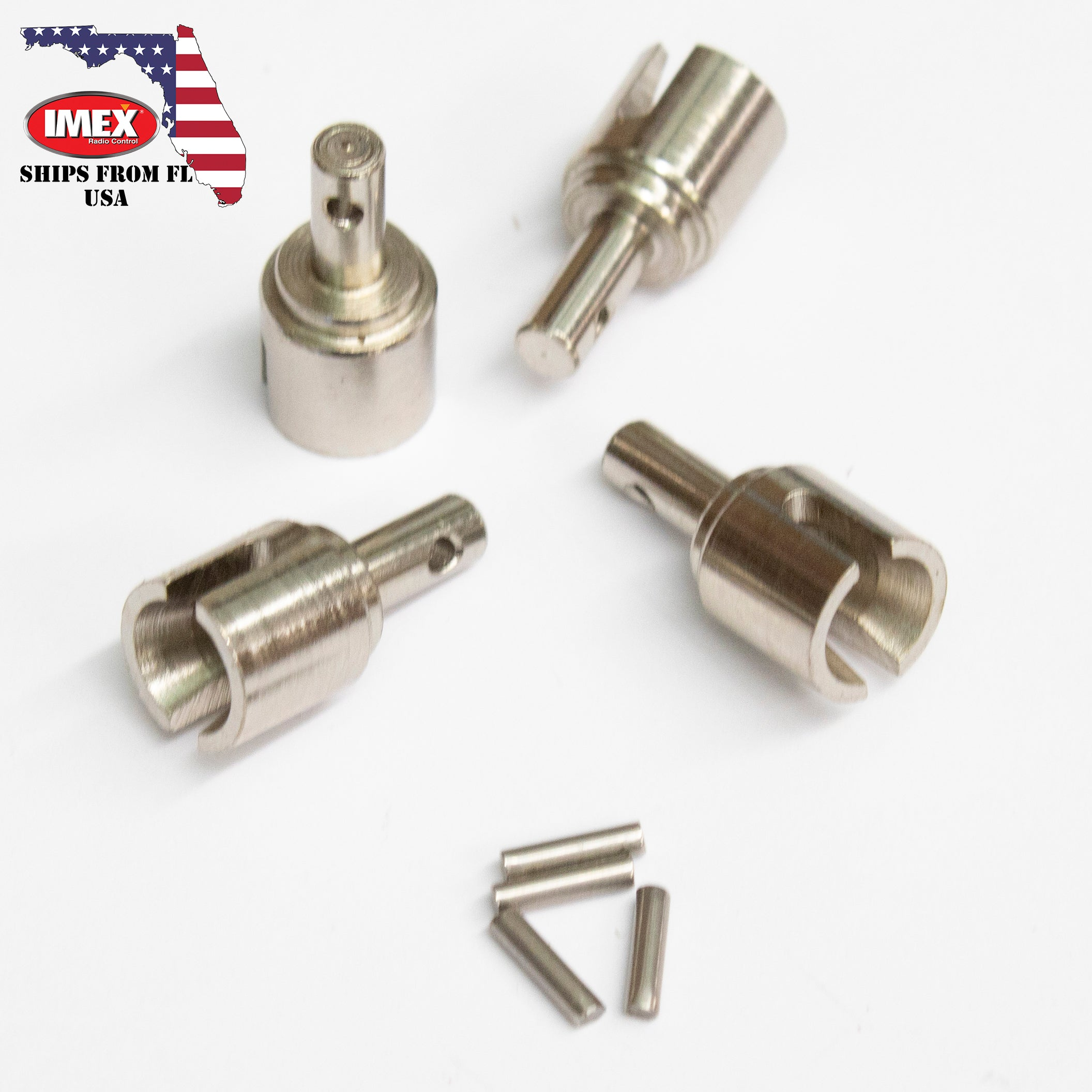 Upgraded Metal Differential Outer Drive Cups & Pins