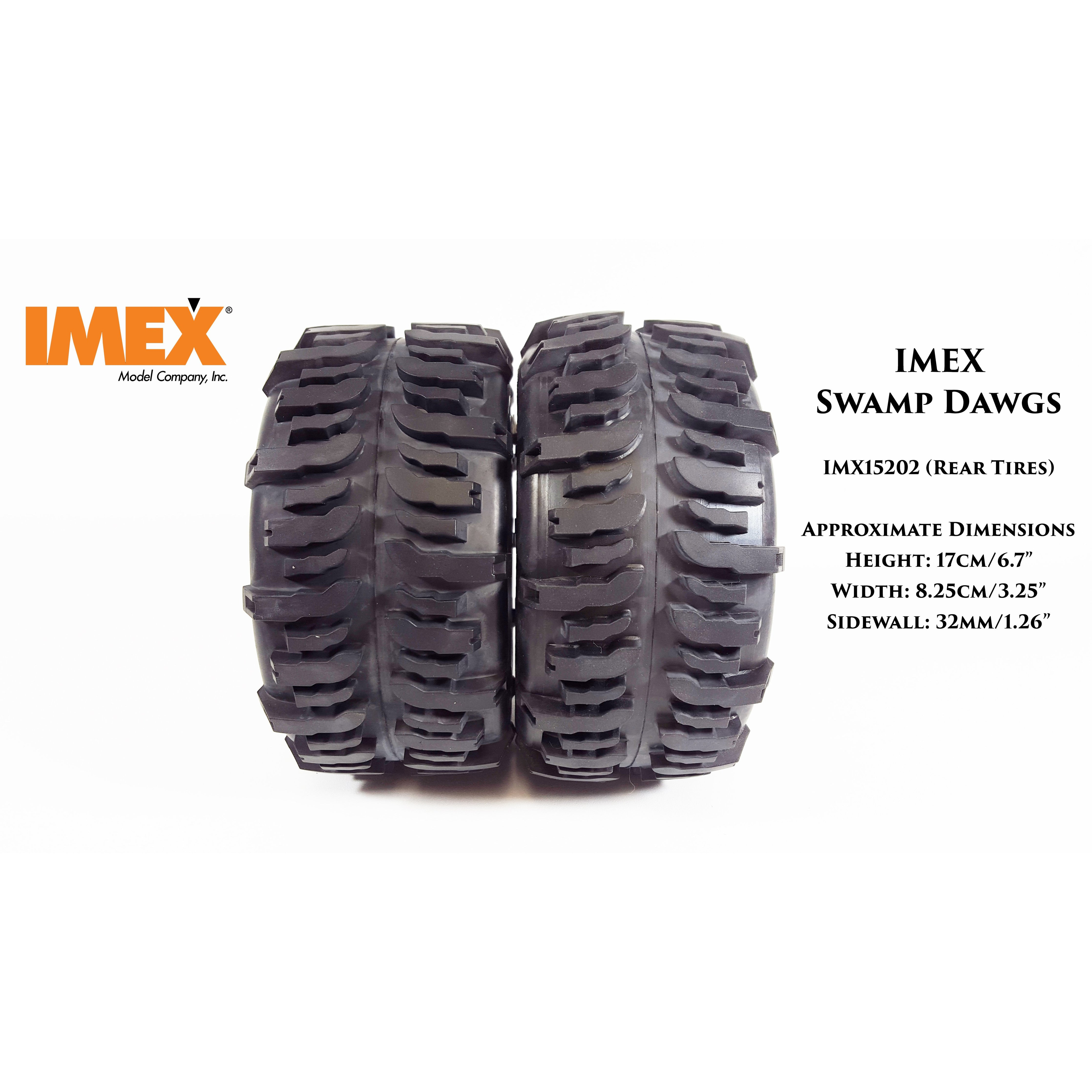 Swamp Dawg Monster Truck Tires (1 Pair) (Front or Rear)