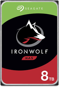 Seagate 8TB IronWolf Pro 3.5 SATA 7200 5 years