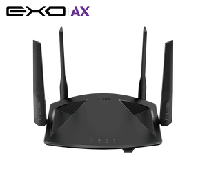 D-Link DIR-X1860 EXO AX1800 Wi-Fi 6 Router with Gigabit ROUTER