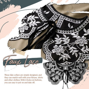 Lace Fake Collar