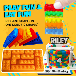 Lego Jello Mold (2 Pack)