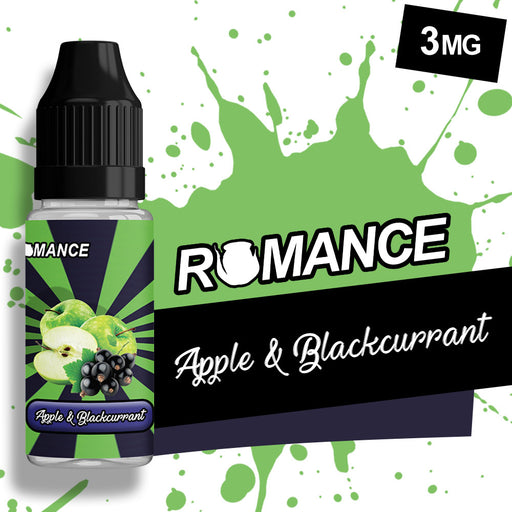 Romance Apple & Blackcurrant 10ml e-liquid 50/50 Vg/Pg
