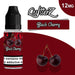 QuitterZ Black Cherry 10ml e liquid High PG 70Pg 30Vg