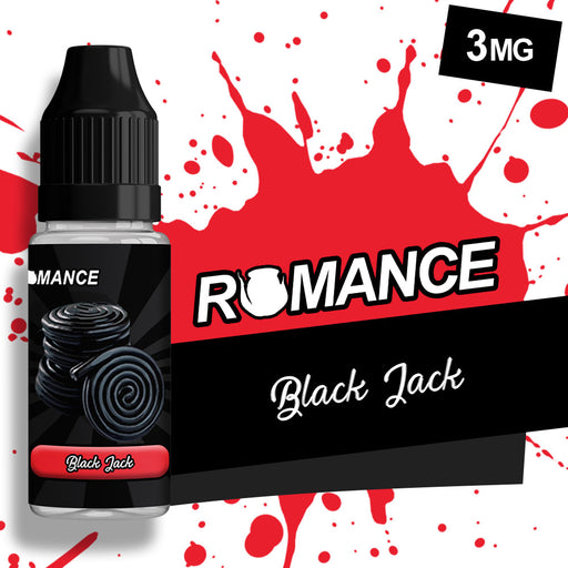 Romance Black Jack 10ml e-liquid 50/50 Vg/Pg