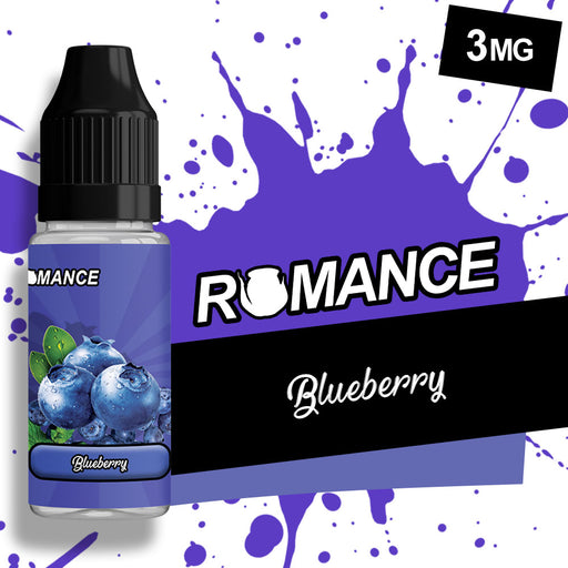 Romance Blueberry 10ml e-liquid 50/50 Vg/Pg