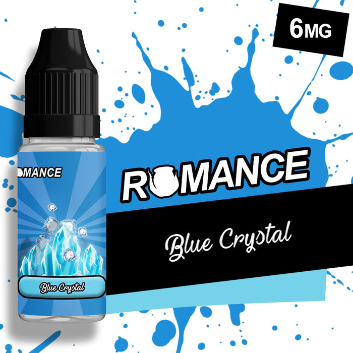 Romance Blue Crystal 10ml e-liquid 50/50 Vg/Pg