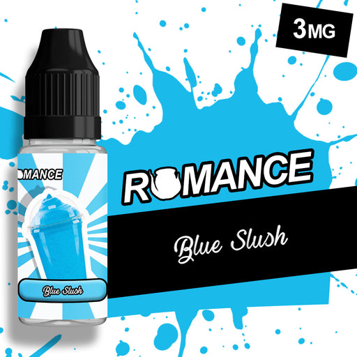 Romance Blue Slush 10ml e-liquid 50/50 Vg/Pg