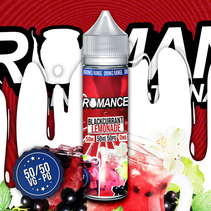 Romance Blackcurrant Lemonade 50ml Shortfill e-liquid 50/50 Vg/Pg
