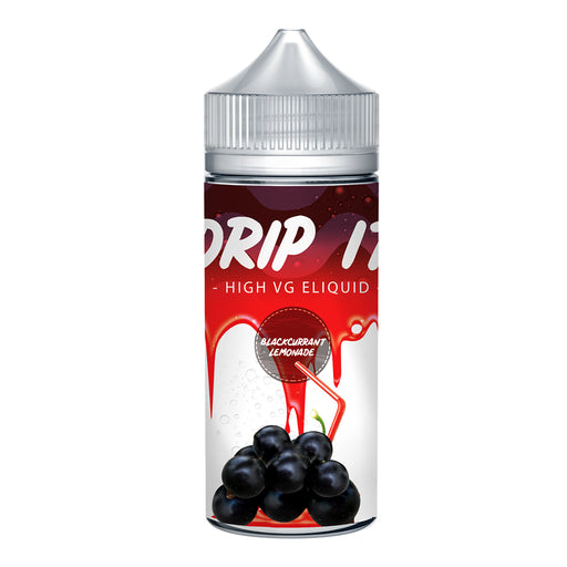 Drip it Blackcurrant Lemonade 100ml Shortfill e-Liquid 70/30 Vg/Pg