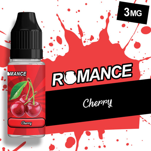 Romance Cherry 10ml e-liquid 50/50 Vg/Pg