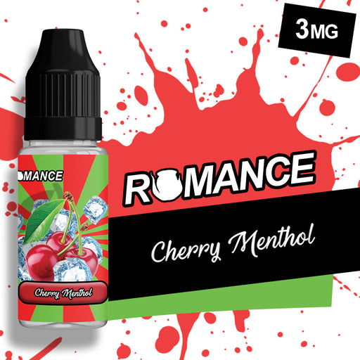 Romance Cherry Menthol 10ml e-liquid 50/50 Vg/Pg