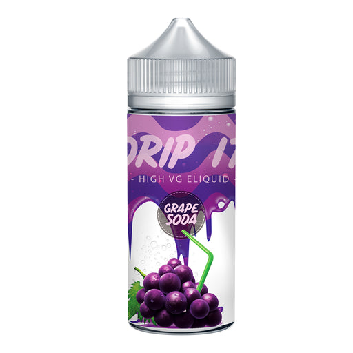 Drip it Grape Soda 100ml Shortfill e-Liquid 70/30 Vg/Pg