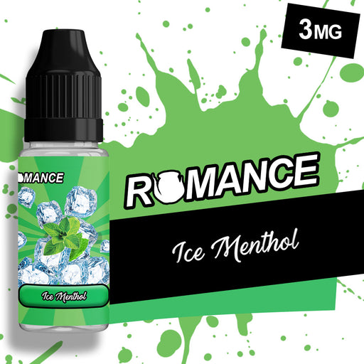 Romance ice Menthol 10ml e-liquid 50/50 Vg/Pg