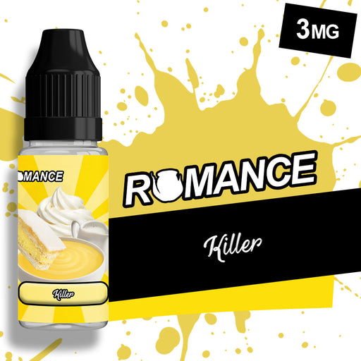 Romance Killer Custard 10ml e-liquid 50/50 Vg/Pg