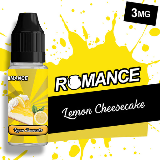 Romance Lemon Cheesecake 10ml e-liquid 50/50 Vg/Pg