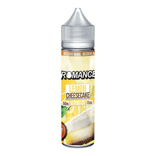 Romance Lemon Cheesecake 50ml Shortfill e-liquid 50/50 Vg/Pg