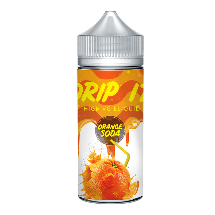 Drip it Orange Soda 100ml Shortfill e-Liquid 70/30 Vg/Pg