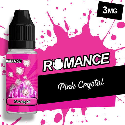 Romance Pink Crystal 10ml e-liquid 50/50 Vg/Pg