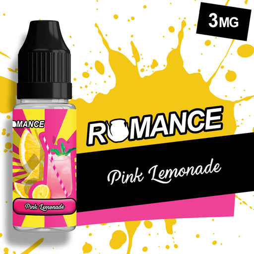 Romance Pink Lemonade 10ml e-liquid 50/50 Vg/Pg