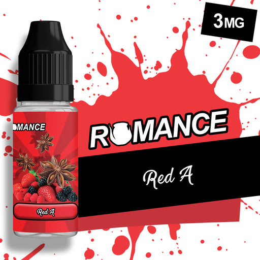 Romance Red A 10ml e-liquid 50/50 Vg/Pg