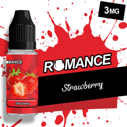 Romance Strawberry 10ml e-liquid 50/50 Vg/Pg