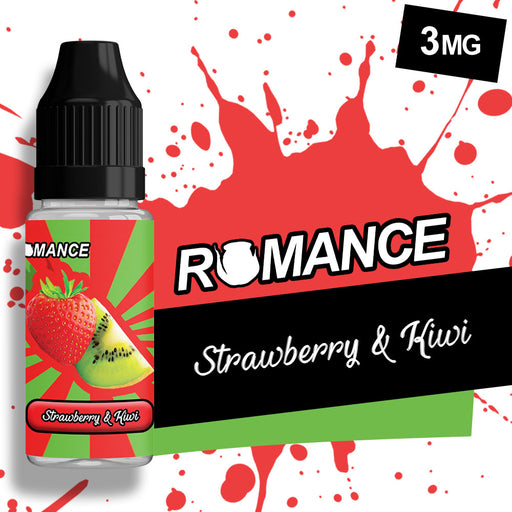 Romance Strawberry Kiwi 10ml e-liquid 50/50 Vg/Pg