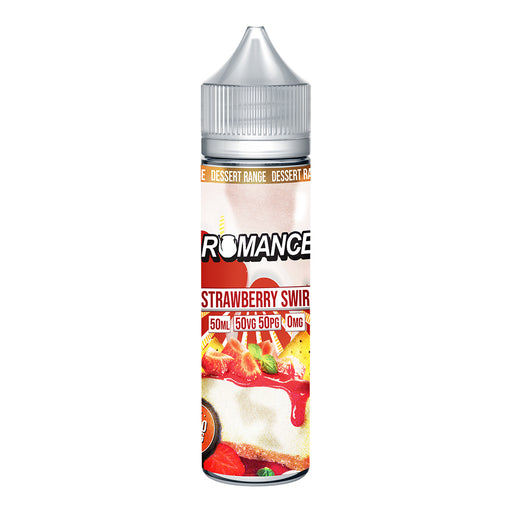 Romance Strawberry Swirl 50ml Shortfill e-liquid 50/50 Vg/Pg
