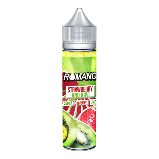 Romance Strawberry Kiwi 50ml Shortfill e-liquid 50/50 Vg/Pg