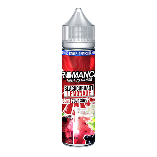 Romance Blackcurrant Lemonade 50ml Shortfill e-liquid 70/30 Vg/Pg