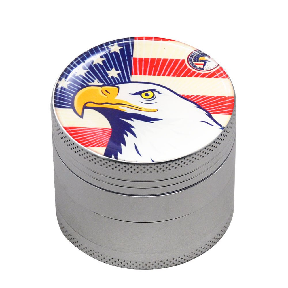 Grinder 50mm american eagle<br>high et fines<br> Rastafari Market®