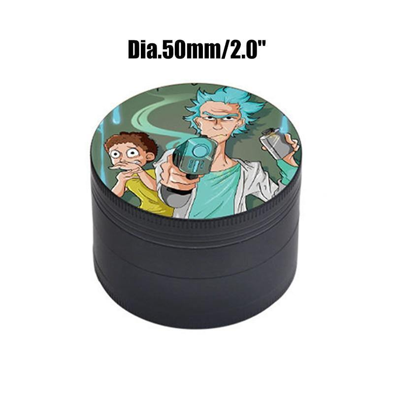 Mini grinder Rick et Morty-version manga - rastafarimarket