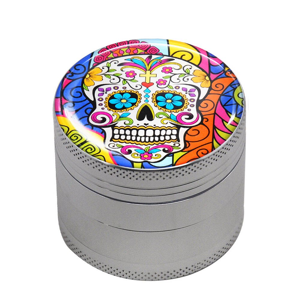 Grinder 50mm TÊTE DE MORT MEXICAINE <br>high et fines<br> Rastafari Market®