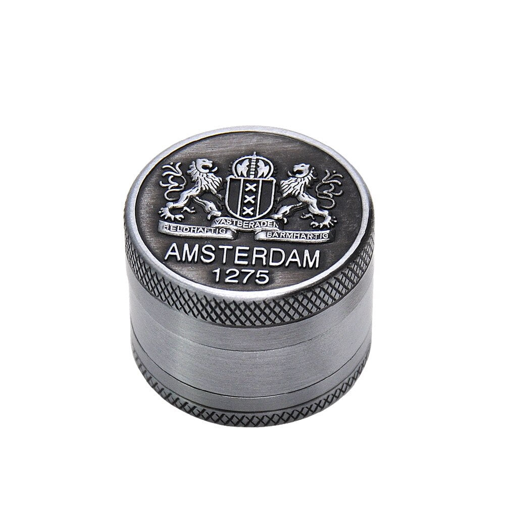 mini grider 30mm Armoiries Amsterdam <br> Rastafari Market®