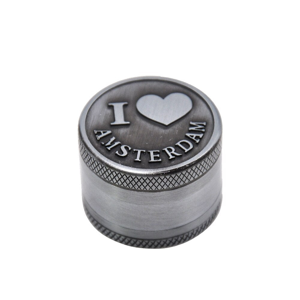 mini grider 30mm I LOVE AMSTERDAM<br> Rastafari Market®