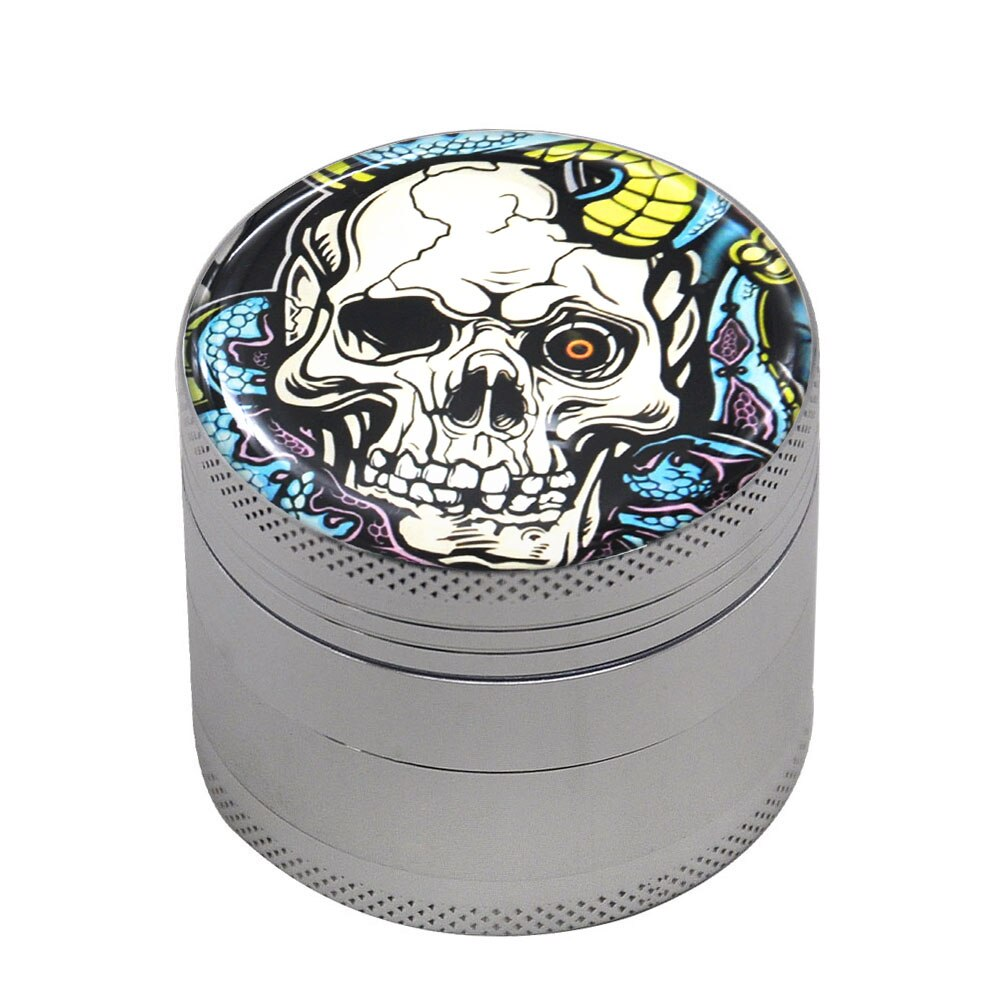 Grinder 50mm SNAKE SKULL <br>high et fines<br> Rastafari Market®