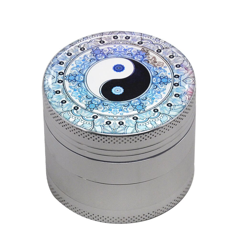 Grinder 50mm Yin et yang <br>high et fines<br> Rastafari Market®
