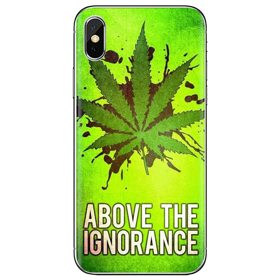 weed above the ignorance