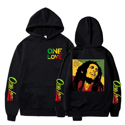 Women/Mens Hoodies Bob Marley Legend Reggae One Love Print Hoodies Sweatshirt Winter Casual Streetwear Bluzy Clothes Tops Coats - rastafarimarket