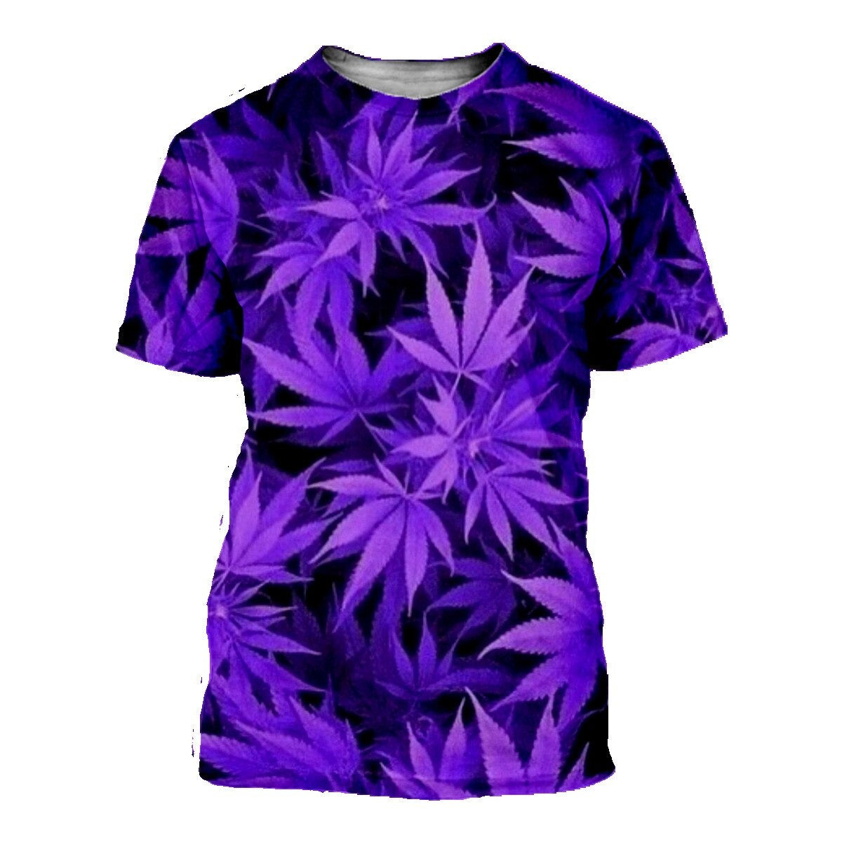 t shirt Smoke Weeds purple dream<br>3D Digital Print <br>Rastafari Market®