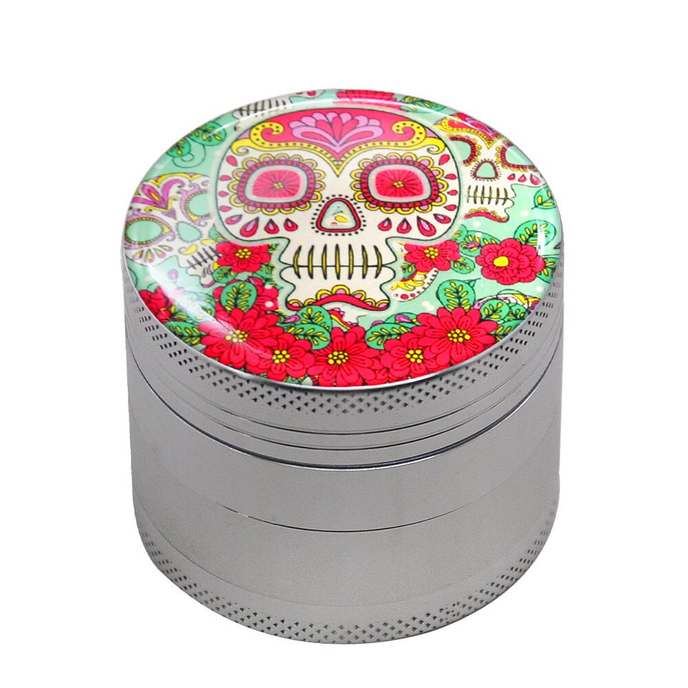 Grinder 50mm CRÂNE MEXICAIN <br>high et fines<br> Rastafari Market®