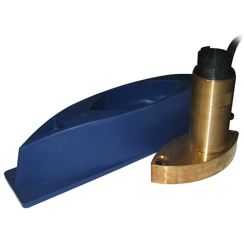 SI-TEX 496/50/200ST Bronze Thru-Hull Triducer w/Fairing Block f/ES502 [496/50/200ST-ES]