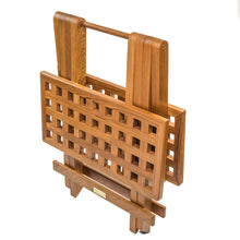 Load image into Gallery viewer, Whitecap Teak Grate Top Fold-Away Table [60030]
