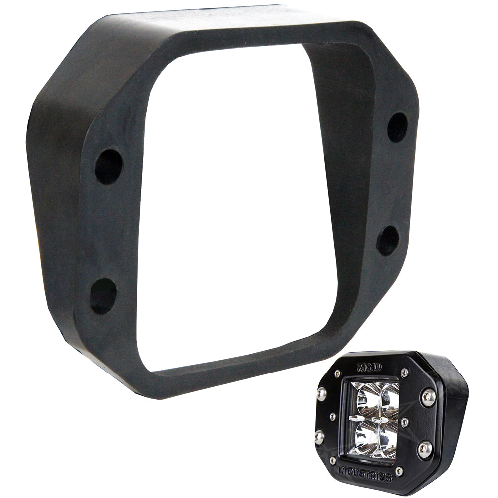 RIGID Industries D-Series Angled Flush Mount Kit - Up/Down [49000]