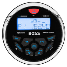 Load image into Gallery viewer, Boss Audio MGR350B Marine Gauge Style Radio - MP3/AM/FM/RDS Receiver [MGR350B]