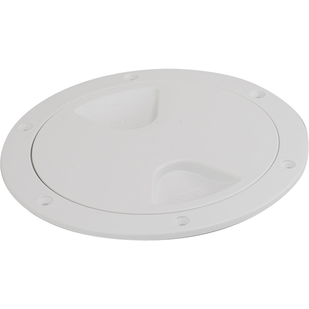 Sea-Dog Screw-Out Deck Plate - White - 4