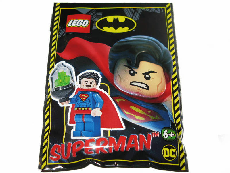 Superman foil pack - TheBrick.co.il